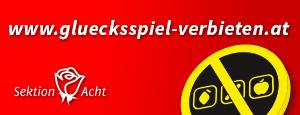 Logo zur Glücksspiel-Homepage